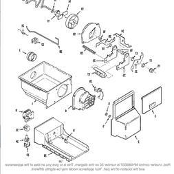 BG71) Maytag, Amana, Jenn-Air Refrigerator Crusher Rod 61004