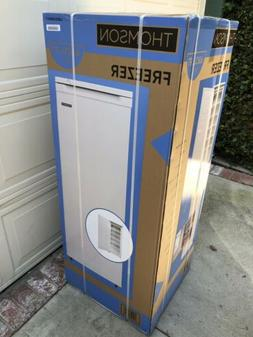 Brand New Sealed Thomson 6.5 Cu. Ft. Upright Freezer In Whit