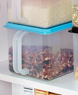 Bulk Food Storage Container Food Airtight Bin Stackable Hand