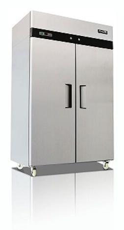 Migali C-2F-HC Commercial Two Door Freezer Reach In 49 Cu.Ft