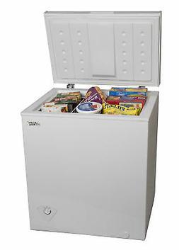 Chest Deep Freezer 5.0 cu ft  Upright Compact Dorm Home Apar