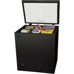 chest freezer 5 0 cu ft black