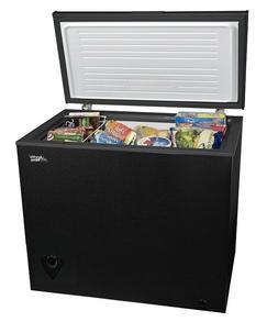 Chest Freezer Arctic King 7 cu ft BlackHome Home Food Storag