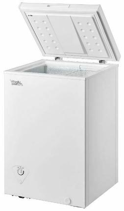 Chest Freezer Storage Ice Deep Freeze 3.5 Cu Ft Quick Freeze