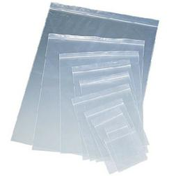 Clear Plastic Ziplock Reclosable Poly Seal Top Bags Coins/Je