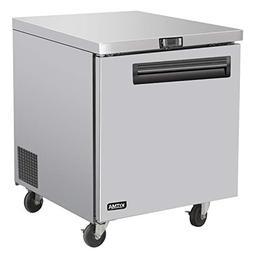 Commercial Single Door Undercounter Freezer - KITMA 7 Cu. Ft