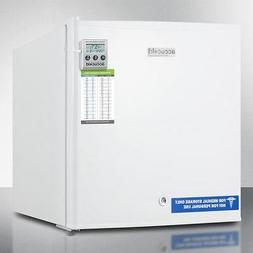 Compact All-Freezer With Lock - White - Medical Use Only
