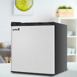 Zokop 1.1 cu.ft. Compact Single Door Mini Fridge Upright Fre