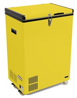 3.17 cu. ft. Compact Refrigerator with Freezer, Yellow