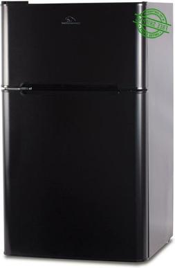 Compact Refrigerator Freezer Ccrd32B Double Door With True 3
