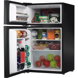 Compact Refrigerator Mini Fridge with Freezer Double Door 3.