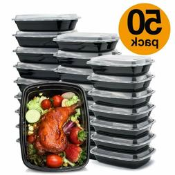 Compartment with Lids Food Storage Containers Bento Box Micr