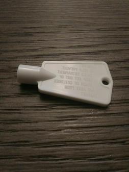For  Crosley Freezer Latch Lock Key # OD6431034FR650