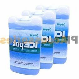 3x Cryopak Ice Pak Freezer Gel Reusable Cooler Ice Pack Lunc
