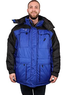 Freeze Defense Men's 3-in-1 Winter Jacket Coat w/Vest