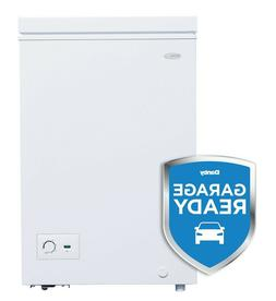 Danby Diplomat 3.5 Cu. Ft. Compact Chest Freezer w/ Drain
