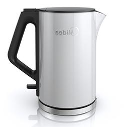 Midea 1.5L Double Wall Cool Touch Electric Kettle-Stainless