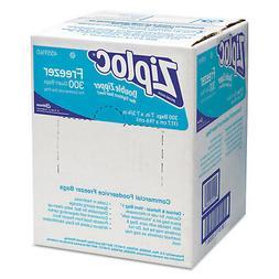 Ziploc Double Zipper Freezer Bags, 1qt, 2.7mil, 7 x 7 3/4, C