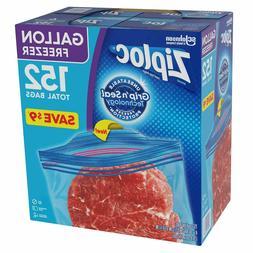 Ziploc Easy Open Tabs Freezer Gallon Bags