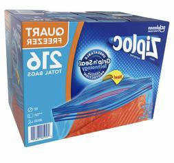 Ziploc Easy Open Tabs Freezer Quart Bags