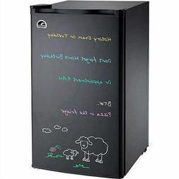 Igloo Eraser Board Refrigerator, 3.2 cubic feet Mini Black C