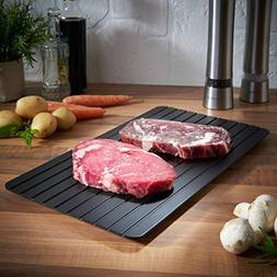 LtrottedJ Hot Fast Defrosting Tray ,Kitchen The Safest Way