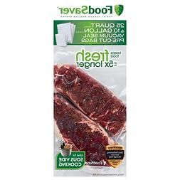 FoodSaver FBSQ25G10-NP Pre-Cut Vacuum Seal Bags Combo Pack f