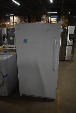 "Frigidaire FFFH17F4QW 34"" White Freestanding Upright Freezer"