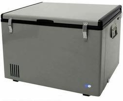 Whynter FM-85G 85 Quart Portable Fridge, AC 110V/ DC 12V Tru