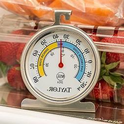 Food Service  LargeDial Thermometer,Freezer-Refrigerator,Saf