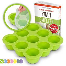 KIDDO FEEDO Baby Food Storage Container and Freezer Tray wit