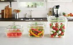FoodSaver Fresh Containers 3 Sizes - 3, 5, 8 Cup   FSV42698