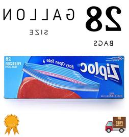 Ziploc Freezer Bags Easy Open Tabs Gallon Bag Kitchen Storag