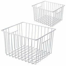 iPEGTOP Freezer Basket, Household Wire Storage Bins Organize