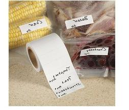 Freezer Labels, Special Adhesive Sticks Firmly To Foil, Free