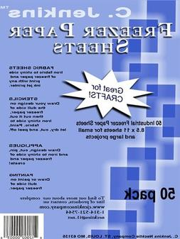 Freezer Paper Sheets 8-1/2X11-50/Pkg