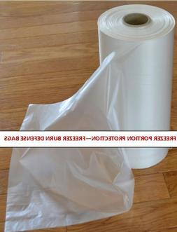 Freezer Portions Bags 450 Roll - Perfect Individual Portion