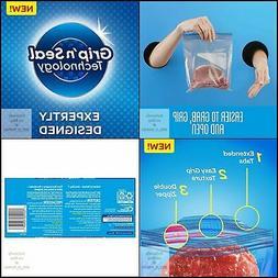 Ziploc Freezer Quart Bags, 75 Count