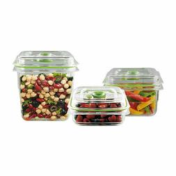 FoodSaver, Fresh Containers, Vacuum Sealing Containers, 3 Si