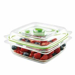 FoodSaver FreshSaver Deli Containers, 2-pack
