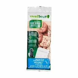 FoodSaver FreshSaver Gallon-Size Zipper Bags, 12-Count