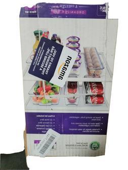 Sorbus Fridge Bins and Freezer Organizer Refrigerator Bins S