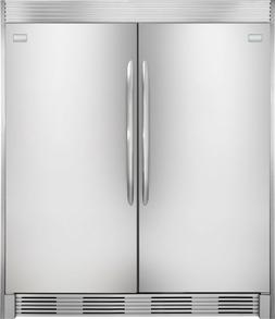 Frigidaire GALLERY Stainless Refrigerator & Freezer Combo FG