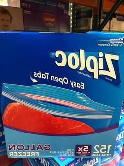 Ziploc Gallon Freezer Bags 4/38-count, 152 Bags Total