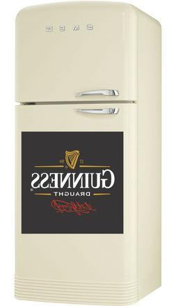 Guinness Draught logo Wrap Fridge Freezer Sticker diff size