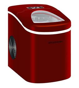 NEW Igloo Ice108-red Compact Ice Maker