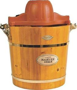 Nostalgia Electrics ICMW-400 4-Quart Wooden Bucket Electric