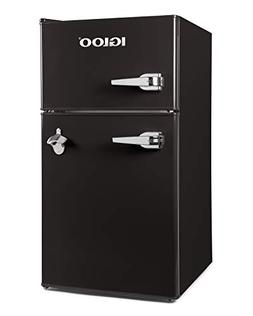 Igloo IRF32DDRSBK Classic Compact Double Door Refrigerator F