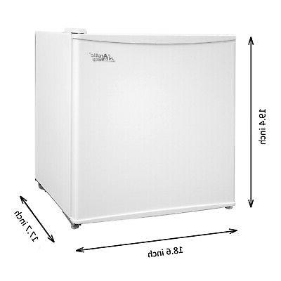 MINI FRIDGE COMPACT Freezer 1.1 Cu Ft refrigerator kitchen o