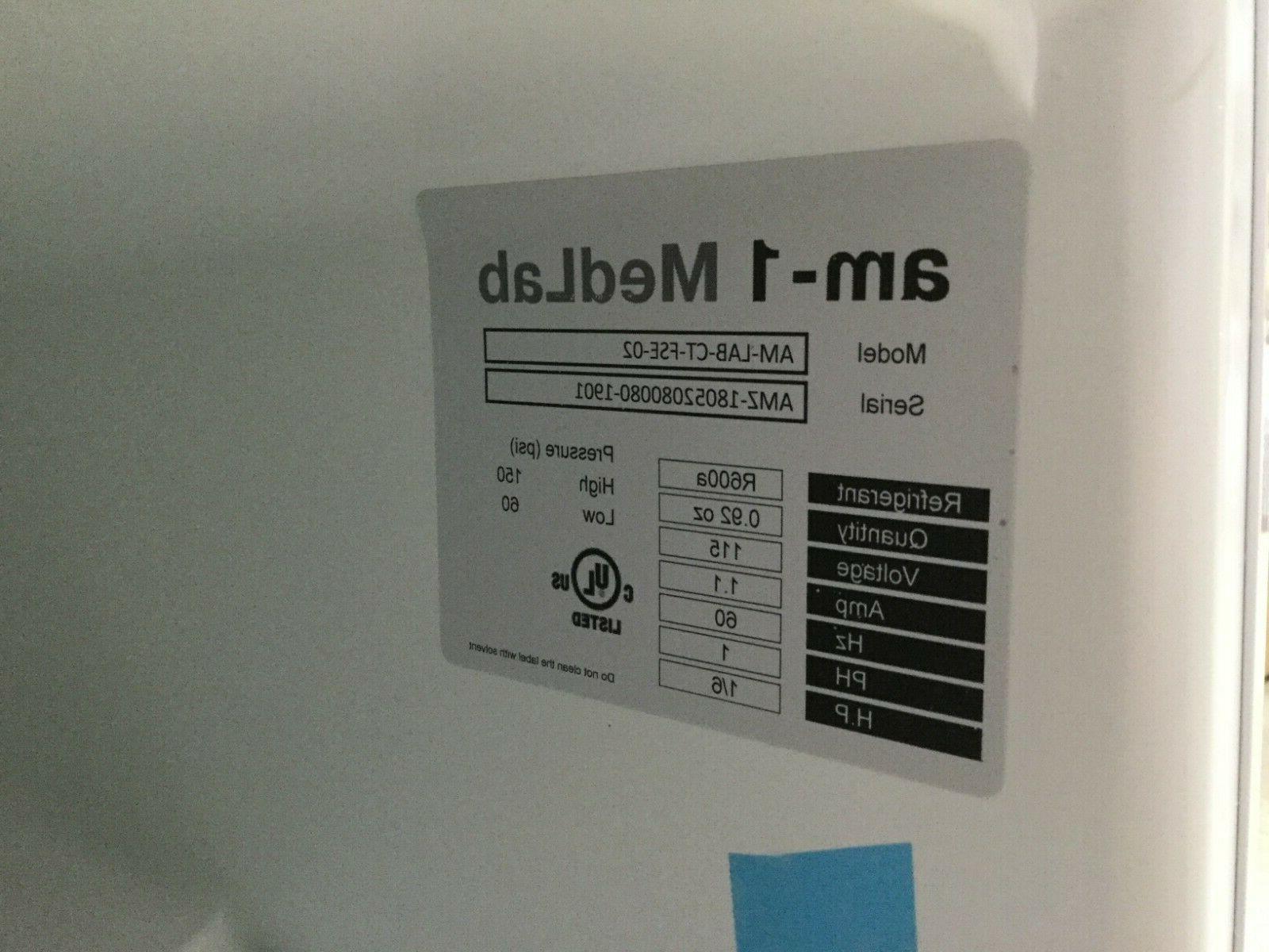 "1.1 ft. Medical Freezer 19 18 17 3/4"""